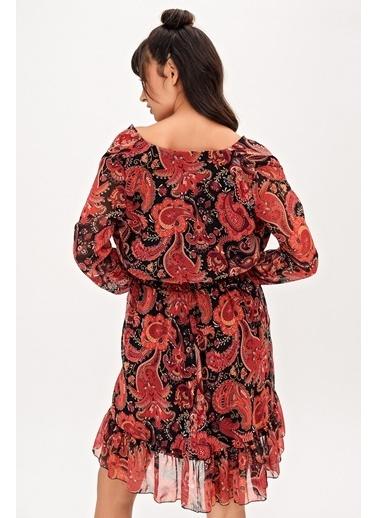 New Laviva Elbise Kırmızı